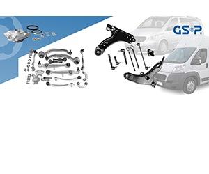 Продукція GSP до легкого комерційного транспорту, мінівенів та пікапів
