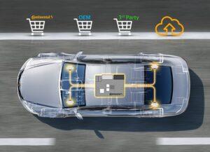 Нова модель VW ID.3 E, оснащена технологіями Continental