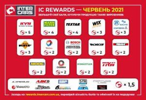 Купувати ще вигідніше із програмою лояльності IC REWARDS