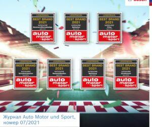 Best Brand 2021: Bosch визнано найкращим брендом в семи номінаціях