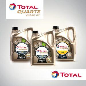 Мастильні матеріали QUARTZ XTRA для легкових авто нового покоління від Total