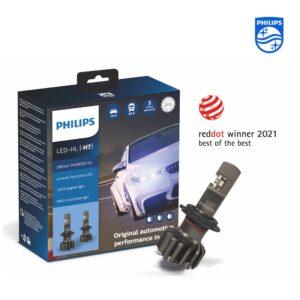 Світлодіодні лампи Philips Ultinon Pro9000 LED отримали нагороду Red Dot Design award: Best of the Best 2021