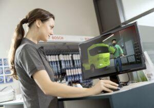 Гра-тренажер для вантажних СТО від Bosch