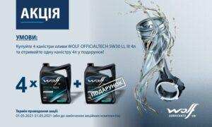 Акція Wolf від АСГ