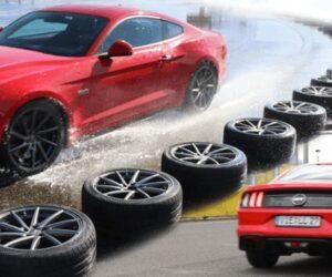 Тестування кращих літніх спортивних шин від Auto Bild