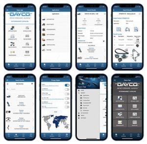 Dayco покращує сервіс підтримки клієнтів з оновленням мобільного каталогу 7.0