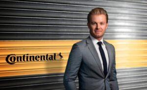 Чемпіон світу з Формули 1 Ніко Росберг - новий амбасадор марки Continental