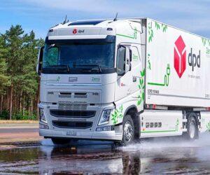 Continental тестує шини для електричних вантажівок