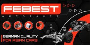 AVDtrade: FEBEST – німецький бренд запчастин для азіатських марок автомобілів