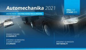 Компанія Nissens представила на Automechanika 2021 новинки наживо та онлайн