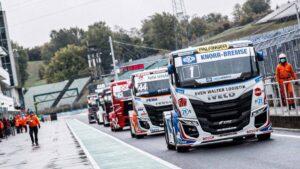 Bosch: 10 років успіху на Чемпіонаті Європи з перегонів на вантажівках