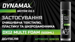 AVDtrade: Застосування DYNAMAX DXI2 – MULTI FOAM (артикул: 606139): ДО/ПІСЛЯ!