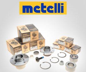 Зустрічайте нову групу товарів, а саме підшипники маточини від бренду Metelli в асортименті BM Parts
